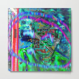 Sigh Kick Turbulance [A Brand New Experiment Series] Metal Print