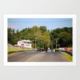 Eighth-Mile Track Art Print