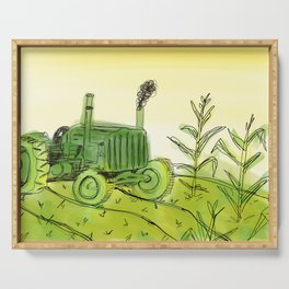 Tractor Serving Tray