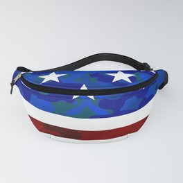 US Flag (Camouflage) Fanny Pack