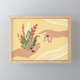 The Creation of Life Framed Mini Art Print