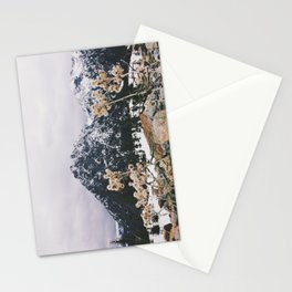 Mountains + Flowers Stationery Cards