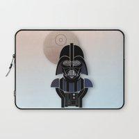 starwars Laptop Sleeves featuring StarWars Darth Vader by Joshua A. Biron
