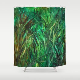 This Grass is Greener Shower Curtain