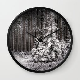sheltered childhood Wall Clock