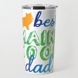 Best Maine Coon Dad Cat Travel Mug