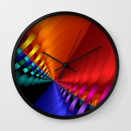 color explosion -1- Wall Clock