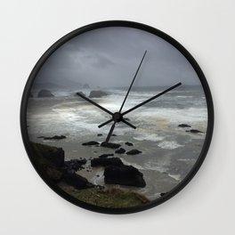 Storm Break Wall Clock