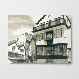 Old cafe Metal Print