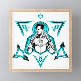 Erik Killmonger Framed Mini Art Print