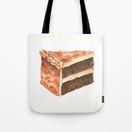 Chocolate Cake Slice Tote Bag