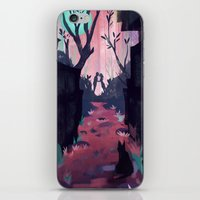 lovers iPhone & iPod Skins featuring Lovers by youcoucou