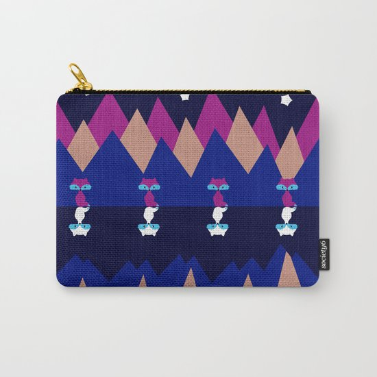 Foxes and shadows Carry-All Pouch