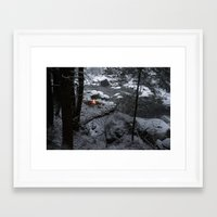 vermont Framed Art Prints featuring Vermont by Hudson Gardner
