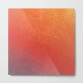 Late Sunset Gradient Metal Print