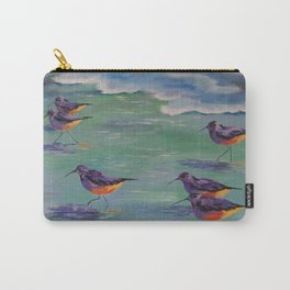 Dance of the Sandpipers Carry-All Pouch