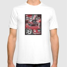 1966 Mustang  MEDIUM Mens Fitted Tee White