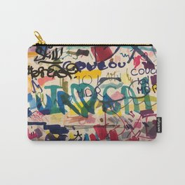 Urban Graffiti Paper Street Art Carry-All Pouch
