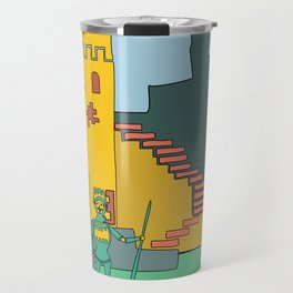 Afternoon at the Medieval Age (a) Travel Mug