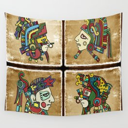 mexican warriors Wall Tapestry