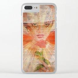 L. S. DIANA Clear iPhone Case