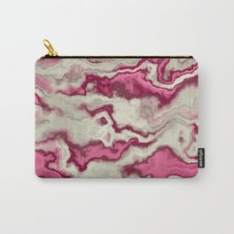 Pink marble art Carry-All Pouch