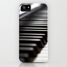 Musician play piano iPhone Case
