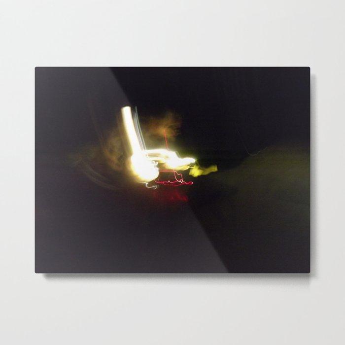 Being Light Metal Print