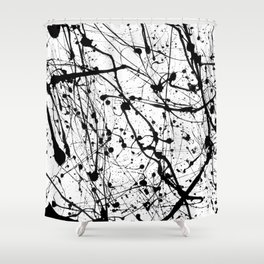 Splat! 3 (Cookies And Cream) Shower Curtain