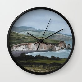 Freshwater, Isle of Wight, England Wall Clock