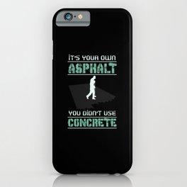 Concrete Worker iPhone Case