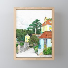 Impressions of Portmeirion 2 Framed Mini Art Print