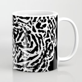 All Heart In Black And White Coffee Mug