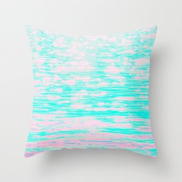 *arpeggiated ambient synth playing* Throw Pillow