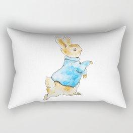 Peter Rabbit Running away Rectangular Pillow