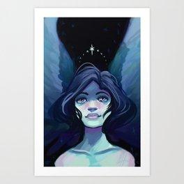Starry Angel Art Print
