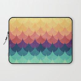 Sailing in Rainbow Waves Laptop Sleeve