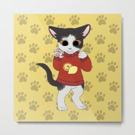 Sweatercats C9 Metal Print