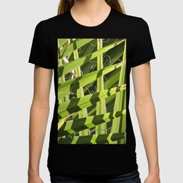 TEXTURES -- Palm Fronds Intersecting T-shirt