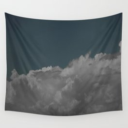 Cloudy blue Wall Tapestry
