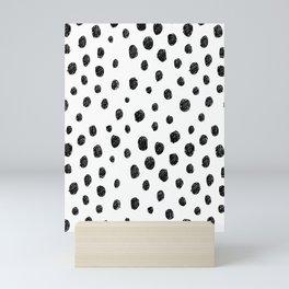 Messy Dots Mini Art Print