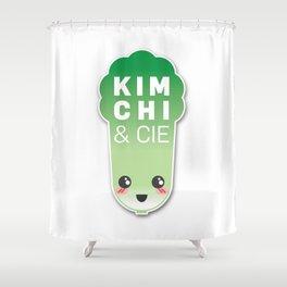 Kimchi & Cie - Official logo Shower Curtain