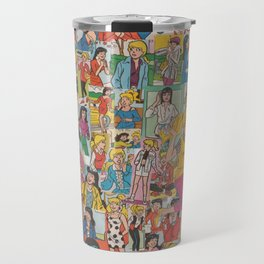 Betty and Veronica Collage Travel Mug