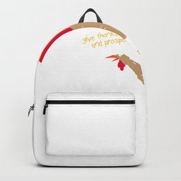 Give Thanks Long and Prosper Backpack