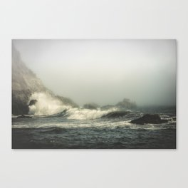 Into the waves V Canvas Print