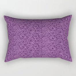 Spiral planet Rectangular Pillow