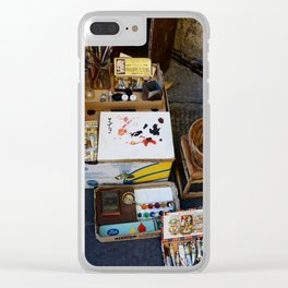 The Artist Street Shop - Lucca Clear iPhone Case
