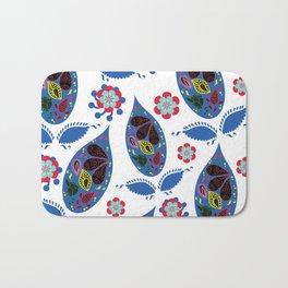 Paisley pattern #4W Bath Mat