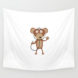 monkey doctor Wall Tapestry