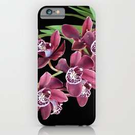 ROYAL ORCHIDS iPhone Case